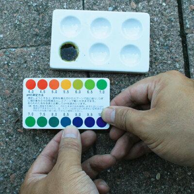 比色式pH検定器