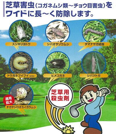 芝生用殺虫剤フルスウィング100g
