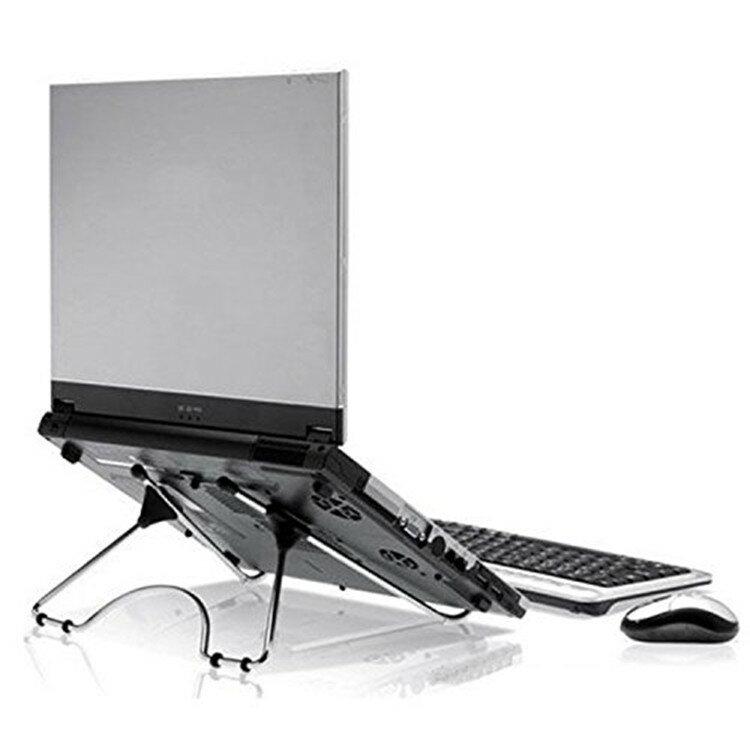 ノートPC スタンド ipad MacBook ノートパソコン タブレット 冷却 スタンド 折りたたみ パソコン ホルダー 軽量 姿勢 角度調整可能 肩こり 腰痛 防止 に 大きなパソコンまで【送料無料】