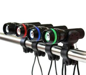LED ライト CREE Q5 チップ搭載高輝度 自転車 LEDヘッドライト ZOOM機能付