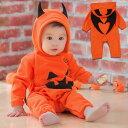赤ちゃん 着ぐるみ ハロウィン かぼちゃ ベビー コスプレ デビル 衣装 子供 コスチューム キッズ かわいい もこもこ …