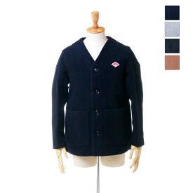 【ポイント10倍】 DANTON(ダントン) メンズ ウールモッサー ノーカラー ジャケット JD-8904 日本正規代理店商品