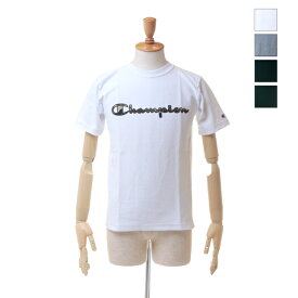 【SALE セール ★ 30%OFF】 Champion(チャンピオン) メンズ リバースウィーブ カモフラ ロゴ Tシャツ C3-M303