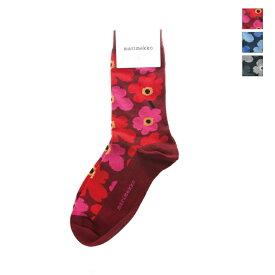 【ポイント10倍】 marimekko(マリメッコ) ユニセックス Unikko (ウニッコ) / ケシの花 靴下 ソックス Hieta 52631-3-9859 日本正規代理店商品