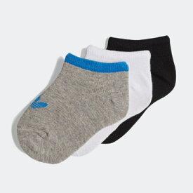 【期間限定 ★ 10%OFF + ポイント10倍】 adidas(アディダス) キッズ 子供用 オリジナルス 靴下 3P リニアソックス DV0227 / DV0228 日本正規代理店商品