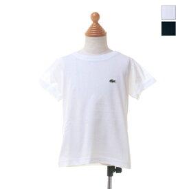 LACOSTE(ラコステ) キッズ BOYS ボーイズ コットンジャージー クルーネック 半袖 Tシャツ TJ1442L 2019春夏/新作 日本正規代理店商品