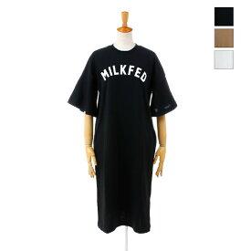 【SALE セール ★ 30%OFF】 MILKFED.(ミルクフェド) レディース ワンピース フレアスリーブ ドレス FLARE SLEEVE DRESS 03192967