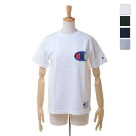 【SALE セール ★ 30%OFF】 Champion(チャンピオン) レディース対応 / メンズ ユニセックス ビッグロゴ 「C」 刺繍 半袖 Tシャツ C3-F362