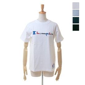 【SALE セール ★ 30%OFF】 Champion(チャンピオン) レディース対応 / メンズ カラー ロゴ刺繍 Tシャツ アクションスタイル チャンピオン C3-H371