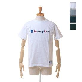 【SALE セール ★ 30%OFF】 Champion(チャンピオン) メンズ カラー ロゴ刺繍 Tシャツ アクションスタイル チャンピオン C3-H371