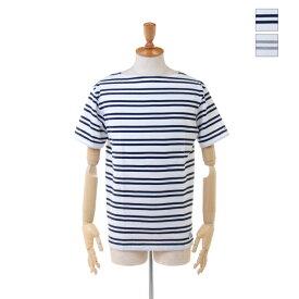 【SALE セール ★ 30%OFF】 ORCIVAL(オーチバル/オーシバル) メンズ ボートネック 2ストライプ ボーダー 半袖 Tシャツ RC-6774