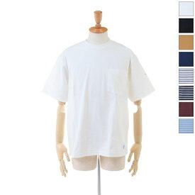 【20%OFF】 ORCIVAL(オーチバル/オーシバル) メンズ ヘビーウエイト ハイカウントジャージー ポケット 半袖Tシャツ RC-9166 2020春夏/新作