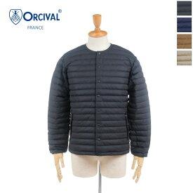 【30%OFF】 ORCIVAL(オーチバル/オーシバル)メンズ クルーネック インナーダウンジャケット RC-8094DPT 2020秋冬/新作