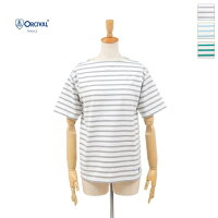 ORCIVAL(オーチバル/オーシバル)レディースボーダーコットンモヨンボートネック半袖TシャツB2452020春夏/新作