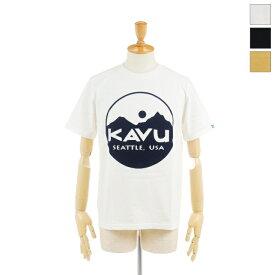 【30%OFF】 KAVU(カブー) メンズ サークルロゴ 半袖Tシャツ Circle Logo Tee 19821020 2020春夏/新作