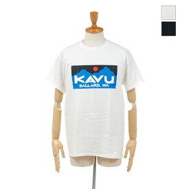 【30%OFF】 KAVU(カブー) メンズ バラードティー ボックスロゴ 半袖Tシャツ BALLARD Tee 19821223 2020春夏/新作