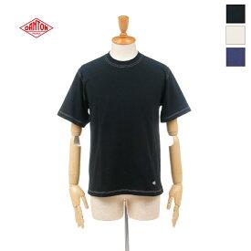 【20%OFF】 DANTON(ダントン) メンズ クルーネック ステッチ 半袖Tシャツ S/S TEE JD-9212  日本正規代理店商品