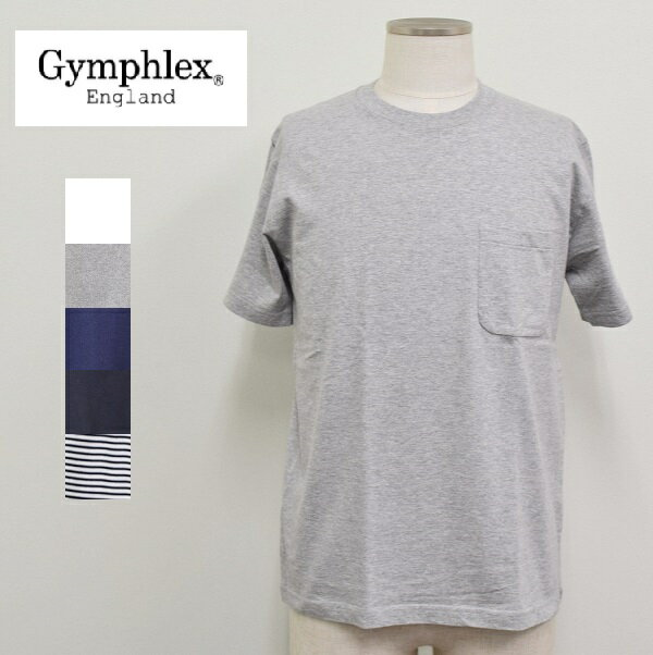 メンズ/Gymphlexジムフレックス/半袖Tシャツ ポケT/J-1163 GF