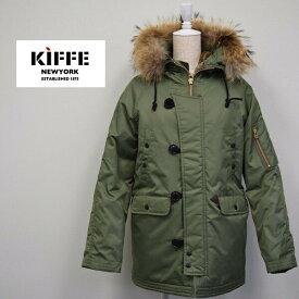レディース/KIFFE U.S.A キッフェ U.S.A/N-3B フライトジャケット リアルファー/K14FO-03L