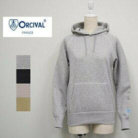 レディース/ORCIVAL  オーシバル オーチバル/ 長袖  プルオーバー スウェット パーカー 無地/RC-9008