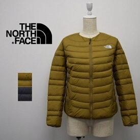 レディース/THE NORTH FACE ザ ノースフェイス/ ダウンジャケット サンダー ラウンドネック ジャケット ライト ダウン THUNDER ROUNDNECK JACKET/NYW81915