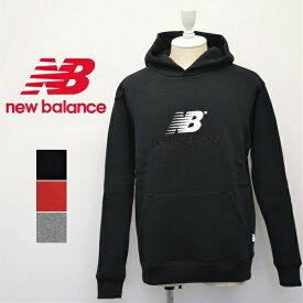 メンズ/new balance ニューバランス/フード付き パーカー スウェット 長袖 裏起毛/MT93519