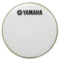 """ヤマハレモ ドラムヘッド(ドラムセット用) バスドラムフロントヘッド アンバサダースムースホワイト18"""" BF-AMSW18"""