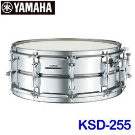ヤマハ コンサートスネアドラム スティール 14インチ KSD-255