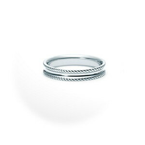 【単品】 NINA RICCI ニナリッチ ウェディングリング TORSADE 6R1Q03 S 結婚指輪(マリッジリング) 【送料無料】