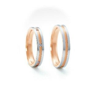 【ペアリング2本1組ダイヤあり*ダイヤなし】 NINA RICCI ニナリッチ ウェディングリング ETERNITE 6RM905/6RL920 P 結婚指輪(マリッジリング) 【送料無料】