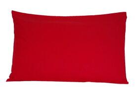 枕カバー 50cm×66cm用 US Standard size 20inch x 26inch 対応 合わせ式 ピローケース カラー: ブラック / レッド/ ネイビー / ピンク / オレンジ / ダークグリーン / ライトグリーン / イエロー / アイボリー / ブラウン