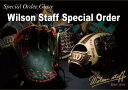 ◆送料無料◆ウィルソン≪ウィルソンスタッフ≫硬式カスタムオーダーグラブ