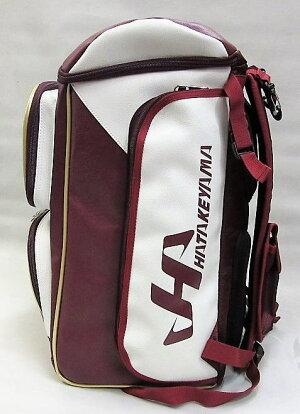 ◆限定企画!◆細部までオシャレにこだわった!◆ハタケヤマ◆人工皮革製ベースボールリュック(バッグ)◆HKR-2PK