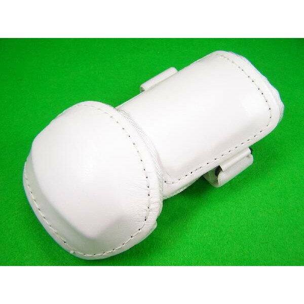 ベルガード BELGARD 学生野球対応 プロ仕様 合皮巻きタイプ アームガード ホワイト AL820 (エルボーガード)