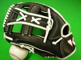 型付け無料 海外メーカー KACHI  カチ 硬式対応 左投げ用 オールラウンド用 ブラック×ホワイト