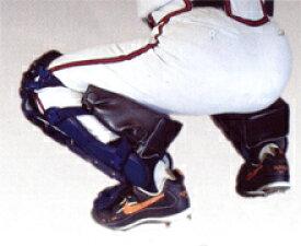 キャッチャー ニークッション ヒザへの負担軽減 レガースに着用 クッション 厚め 高校野球対応カラー ブラック ブルペンキャッチャー