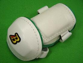 ベルガード BELGARD プロ仕様 合皮巻きタイプ アームガード ホワイト&グリーン AL811 (エルボーガード)
