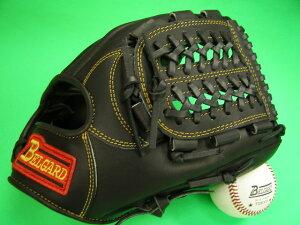 送料無料!型付け加工無料 ベルガード BELGARD 内野用 ブラック×イエロー糸 野球ソフトボール兼用 軟式M号球 ソフトボールにおすすめ