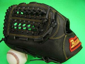 送料無料!型付け加工無料 ベルガード BELGARD 左投げ用 内野用 ブラック×イエロー糸 野球ソフトボール兼用 軟式M号球 ソフトボールにおすすめ