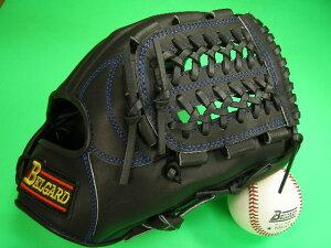 送料無料!型付け加工無料 ベルガード BELGARD 内野用 ブラック×ブルー糸 野球ソフトボール兼用 軟式M号球 ソフトボールにおすすめ