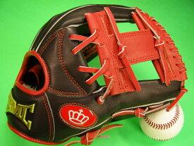 型付け無料 海外メーカー BMC ビーエムシー 硬式野球用 内野用 レッド×ブラック Hウェブ Baseball Members Club
