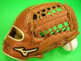送料無料 型付け無料 ミズノ USA MIZUNO 海外モデル 硬式野球用 外野用 グラブ PRO SELECT GPS1-700DS 12.75インチ ブラウン×タンヒモ