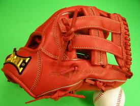 型付け済み 海外メーカー BMC ビーエムシー 内野用 レッド ピースウェブ 11.5インチ 硬式野球対応