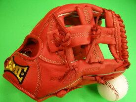型付け済み 海外メーカー BMC ビーエムシー 内野用 レッド クロスウェブ 11.25インチ 硬式野球対応