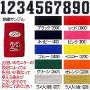 単色 番号刺繍加工 バッティング手袋 リストバンド MCB-2 角型 (商品は別途注文してください)