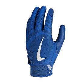 あす楽 数量限定 NIKE 野球用 バッティング手袋 両手組 ナイキ アルファ ハラチ エッジ ロイヤル BA1017 417 nik20ss