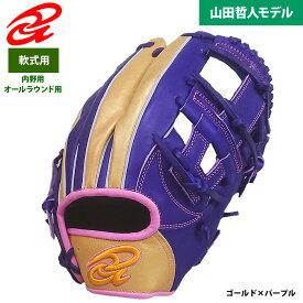 あす楽 超限定 ドナイヤ 野球用 軟式 グラブ 内野オールラウンド 山田哲人型 サイズ7 DA2020 don20fw