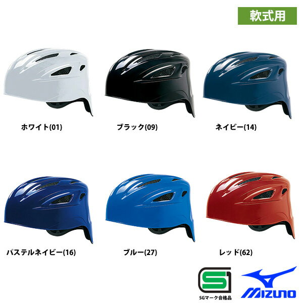 ミズノ 軟式 キャッチャー ヘルメット 捕手用 1DJHC201 miz17ss