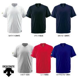 デサント 野球用 ベースボールシャツ Vネック レギュラーシルエット DB-202 des17ss