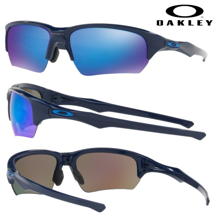 あす楽 OAKLEY オークリー サングラス FLAK BETA (ASIAN FIT) SAPPHIRE IRIDIUM NAVY OO9372-03 oak17fw